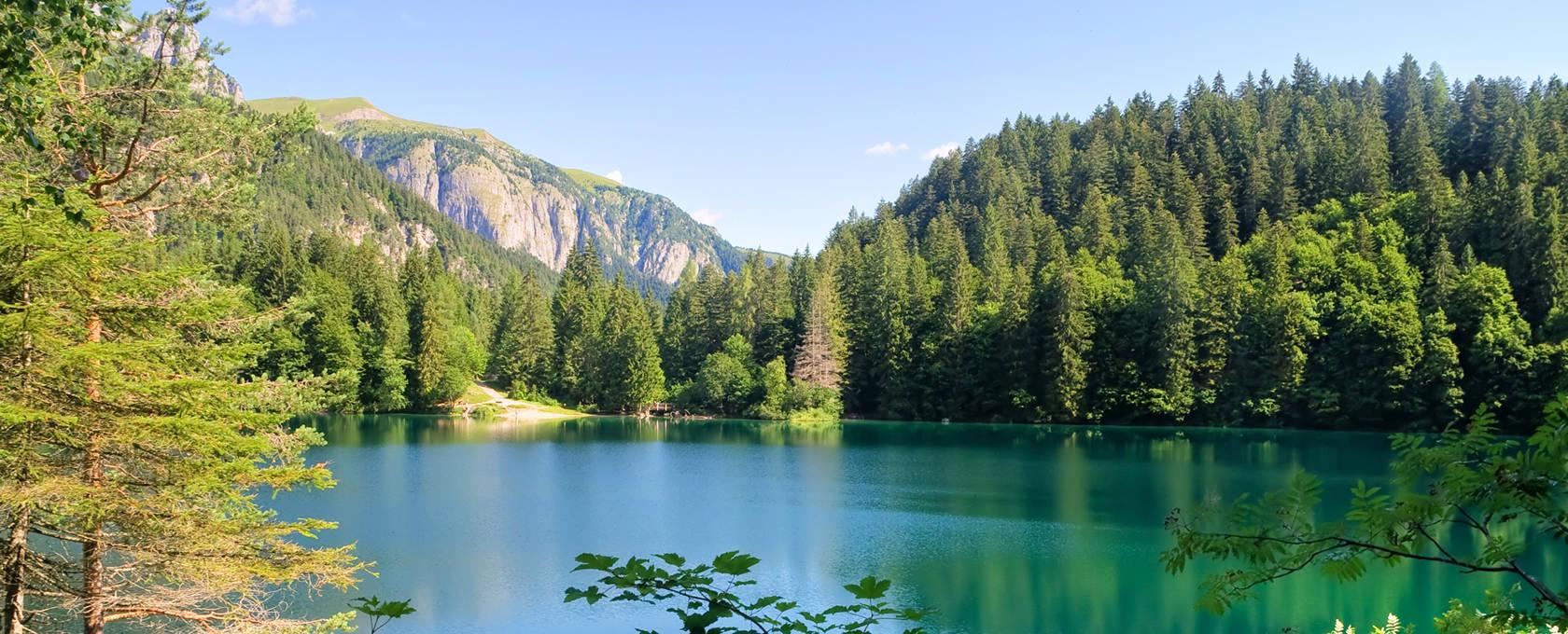 Lago Tovel Dolomiti