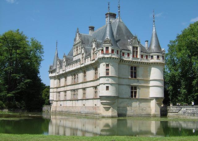 Il castello d'Azay-le-Rideau