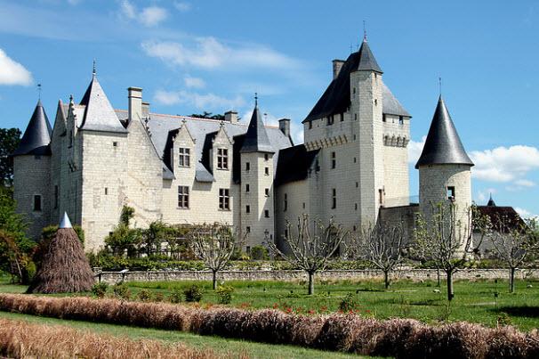 Il castello di Le Rivau