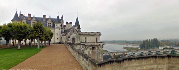 Il castello reale d'Amboise