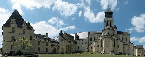 L'abbazia di Fontevraud