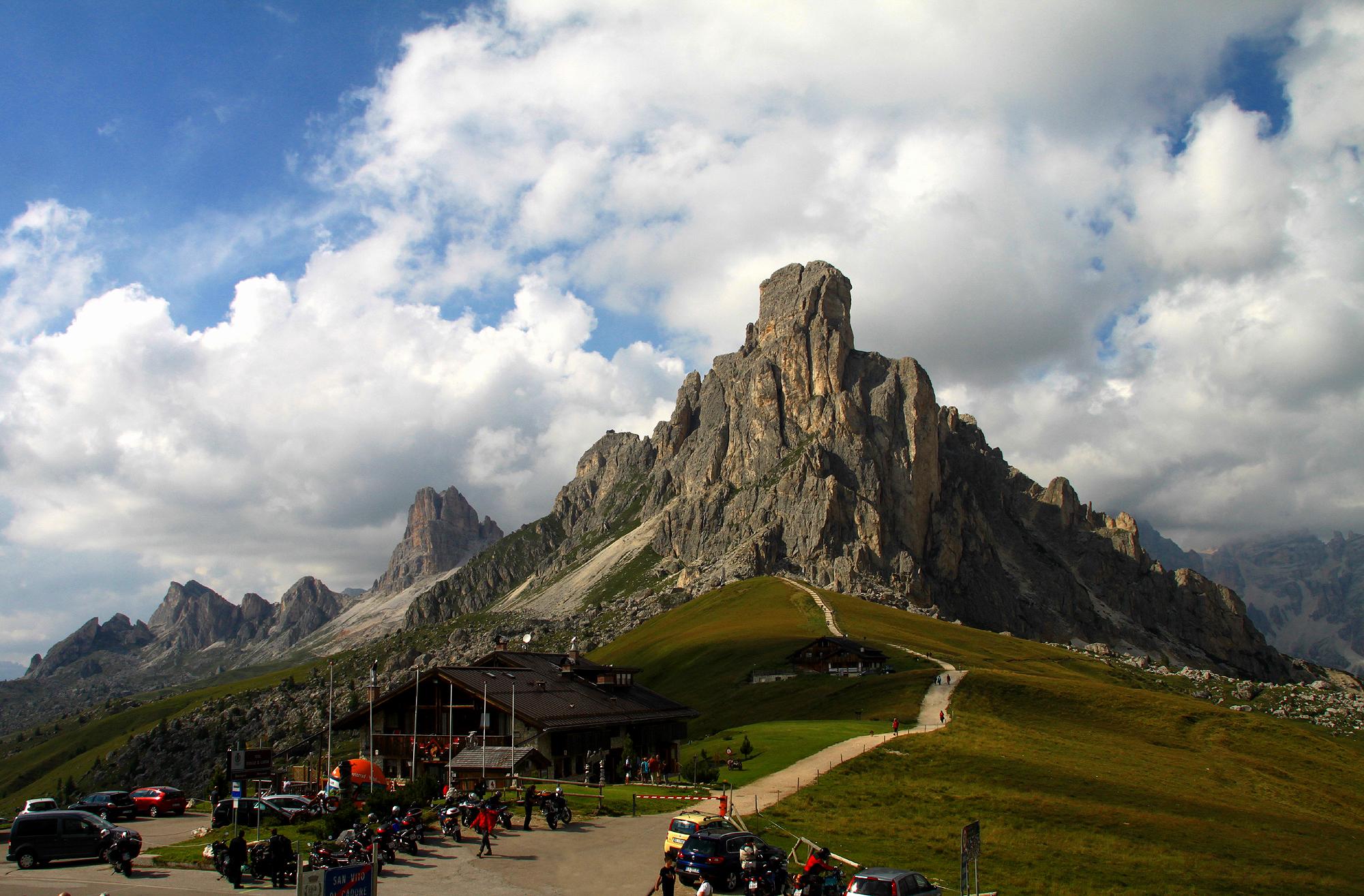Nelle dolomiti fra Trentino e Veneto