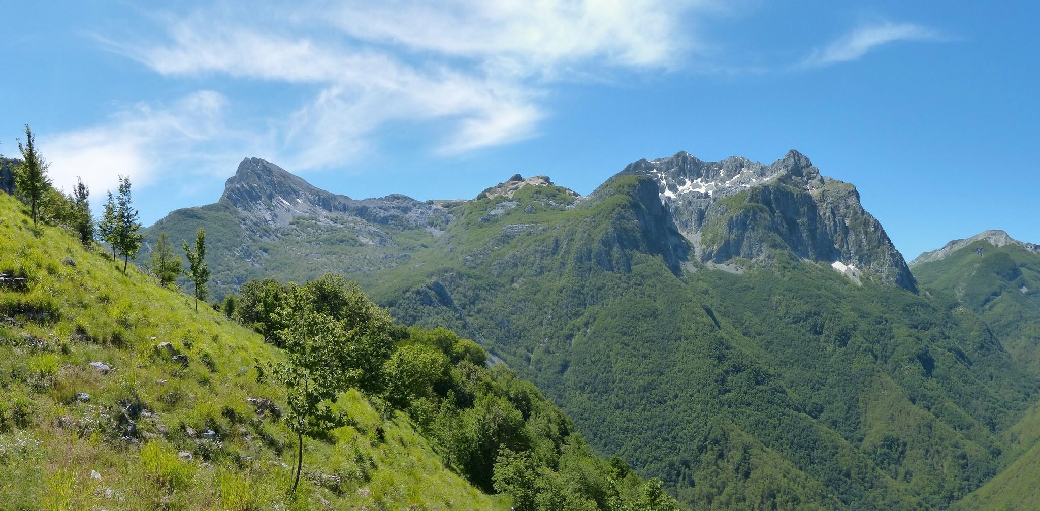 Nel Parco delle Alpi Apuane