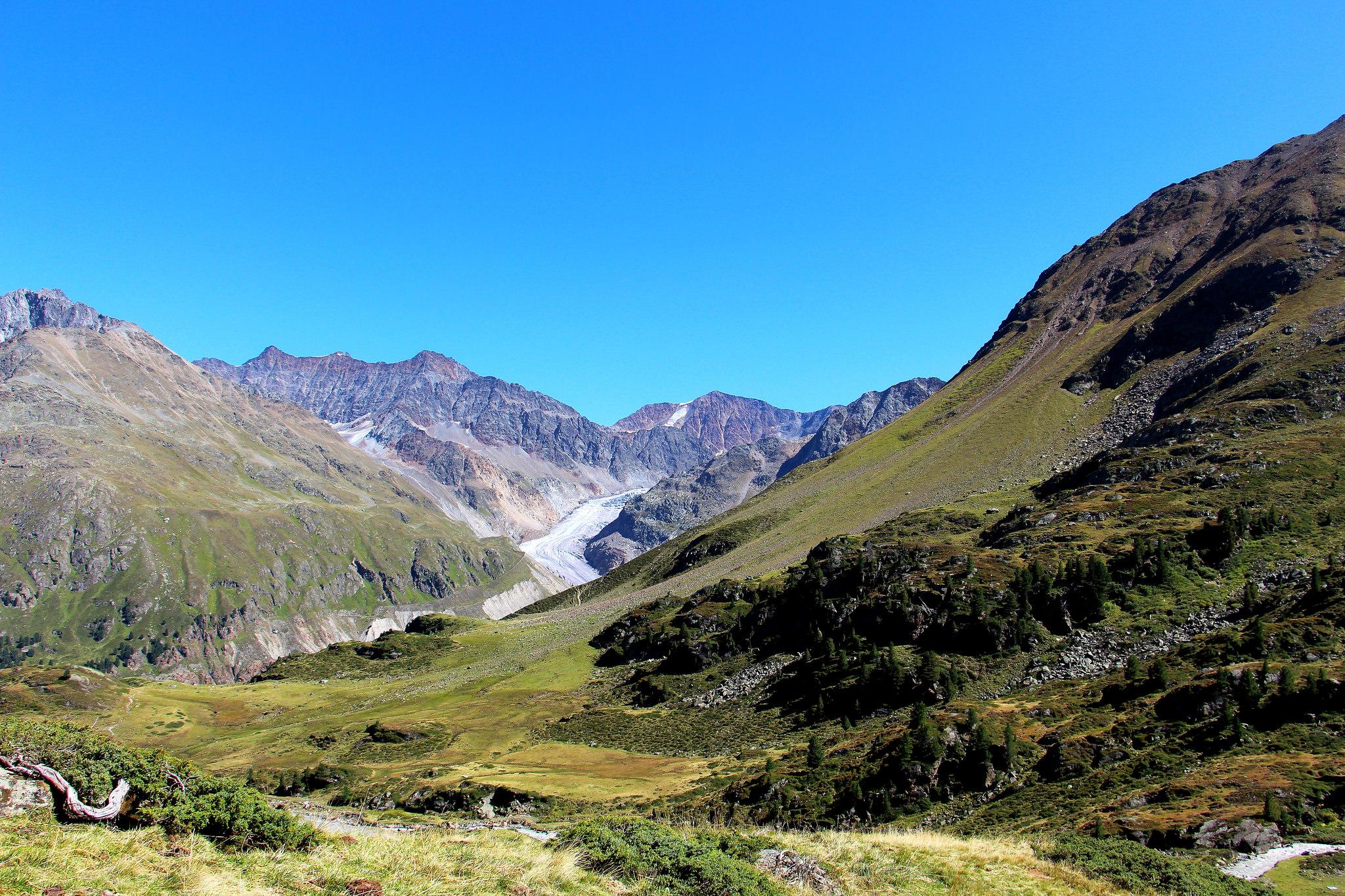 Austria e il Parco naturale del ghiacciaio